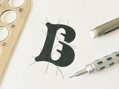 B for Bakery @jeroenvaneerden #dribbble #dribbblers #graphicdesign #design #logo #mark by dribbblers