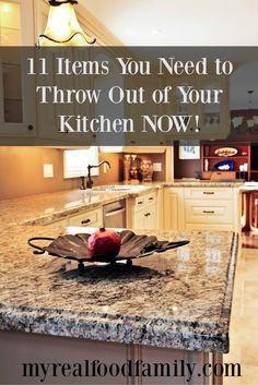 11 Items You Need to Throw Out of Your Kitchen Now!
