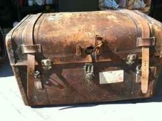 1800's Stagecoach Trunk