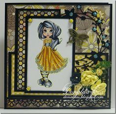 Love the colors and layout!  by Donalda http://donaldas.blogspot.com/2011/10/black-sparkle-flowers-and-distressing.html