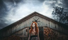 Photo Deep Martyr Skies by Maksim Mashnenko on Photography Women, Deep, Sky, Activities, Photo And Video, House Styles, Inspiration, Woman, Red Hair
