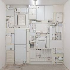 Michael Johansson, found object installations