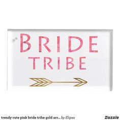 Shop trendy cute pink bride tribe gold arrow design place card holder created by Elipsa. Wedding Supplies, Wedding Favors, Wedding Reception, Metal Card Holder, Arrow Design, Table Cards, Cute Pink, Bridesmaid Gifts, Place Cards