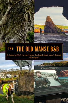 The Old Manse B&B, Ballycastle N. Ireland is luxury B&B at a a budget price & the perfect location on the Coast Road for every sight you might want to see.