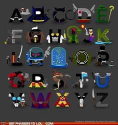 Gotham Alphabet