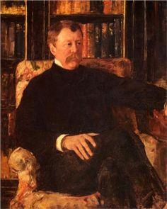 Portrait Of Alexander Cassatt - Mary Cassatt, c.1880