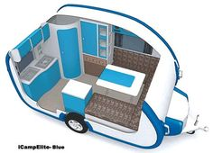 small travel trailers ultralight icamp elite small travel trailer review with readers comments