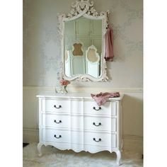 Provencal Classic White Chest of Drawers - French Chest - French Bedrooms