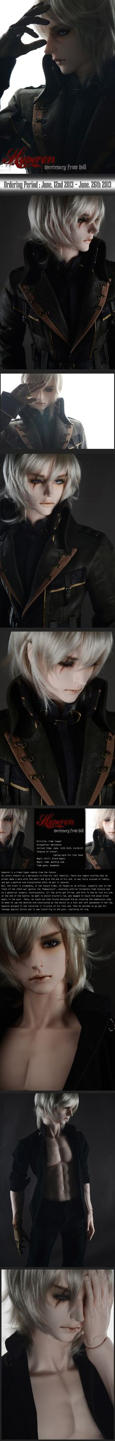 soom Hyperon-Mercenary from Hell [Hyperon] - $316.00 : BJD baby,bjd dolls,bjd doll shop,bjd bragan?a,fairyland,volks bjd,soom,luts bjd,Super Dollfie, BJD lovers collect community