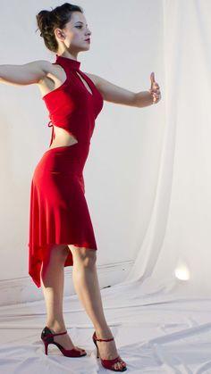 Burgundy silk and lace dress. Tango dress. by AtelierVertex, $285.00