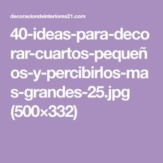 Ideas, Small Bedrooms, Quartos, Spaces, Salons, Lilac