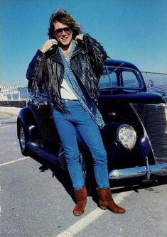 20 Photographs of Handsome Jon Bon Jovi in the 1990s ~ Vintage Everyday Shaggy Long Hair, Jon Bon Jovi, Hottest Pic, Rock N Roll, Hot Guys, Hipster, Leather Jacket, Fan, Long Hair Styles