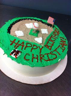 DQ baseball cake