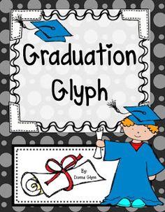 Kindergarten graduation glyph