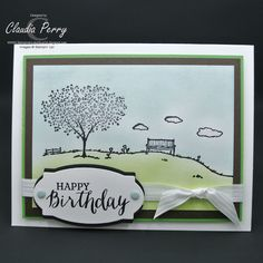 Stamping in Columbus, GA, Stampin' Up!, ICS Blog Hop Welcome Spring, Happy Home