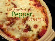 Un-Stuffed Pepper Casserole Tried this one tonight - it is a winner.