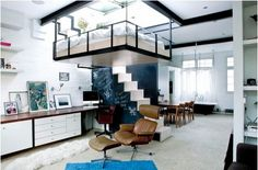 Saving Space with Suspended Bedroom - MelodyHome.com