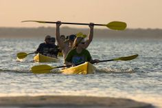 Kayaking on Lake Sibaya with Thonga Beach Lodge, KwaZuluNatal, South Africa
