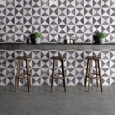 Please note: Due to high demand of our Glazed Tiles, our lead time is currently 6 weeks. Our collection of glazed tiles are available in the classic Bert & May patterns and plains. Hand finished in Stoke on Trent, and made in Spain, the beautiful finish of these tiles and colourways add a splash of personality to the look and are ideal for wall surfaces.