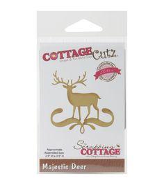 CottageCutz Elites Die - Majestic Deer