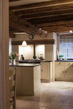Cheshire Furniture Company have designed and installed beautiful bespoke kitchens, bathrooms, bedrooms and furniture for other rooms for almost 25 years. Cottage Kitchens, Farmhouse Kitchen Decor, Country Kitchen, Kitchen Interior, Home Kitchens, Cream Kitchens, Aga Kitchen, Kitchen Wall Tiles, Kitchen Dining