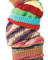 Knit Hat Pattern, basic pattern for male or female
