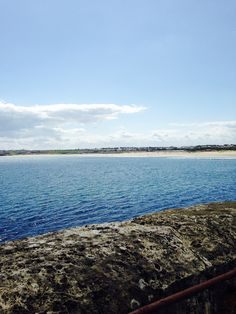 View of South Shields beach from the pier