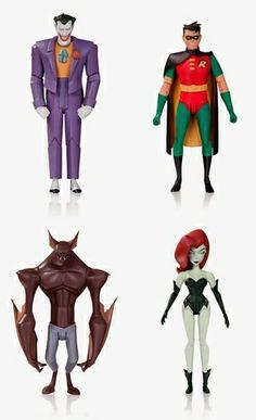 Batman The Animated Series Action Figures Wave Two - Set of 4 #Batman #Collectibles alteregocomics.com