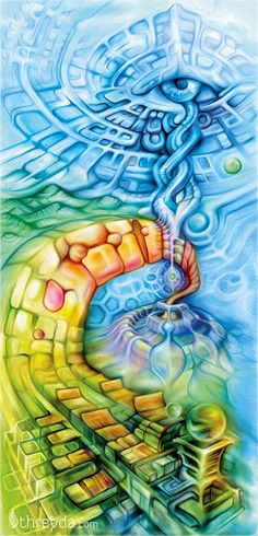 The Artwork of Fabian Jimenez #psychedelicmindscom psy-minds.com