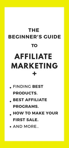 The In-depth guide and starter pack of affiliate marketing for the new bloggers to earn income through affiliate sales  .