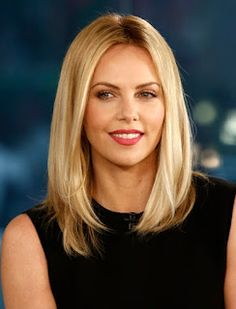 Charlize Theron hair -- I like this hair cut, if I had to go short