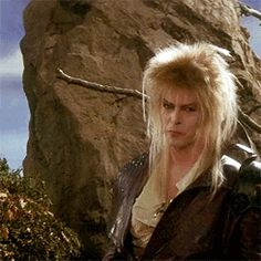my gifs mine smiling david bowie labyrinth goblin king Jareth my movies i need a better copy of this movie i David Bowie Labyrinth, Labyrinth Film, Labyrinth Goblins, Jim Henson Labyrinth, Sarah And Jareth, Labrynth, Doctor Whooves, Perfect Gif, Goblin King