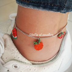 451 mentions J'aime, 7 commentaires - Emel Sibel , Miyuki ( - Diy Bracelets Easy, Seed Bead Bracelets, Seed Bead Jewelry, Ankle Bracelets, Beaded Anklets, Beaded Rings, Beaded Necklace, Hanging Beads, Ankle Chain