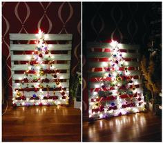 /pallet christmas tree/ - święta 2015