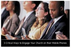 Visitors are increasingly using mobile devices to search for church's information.  Your church members are mobile, how about your church?