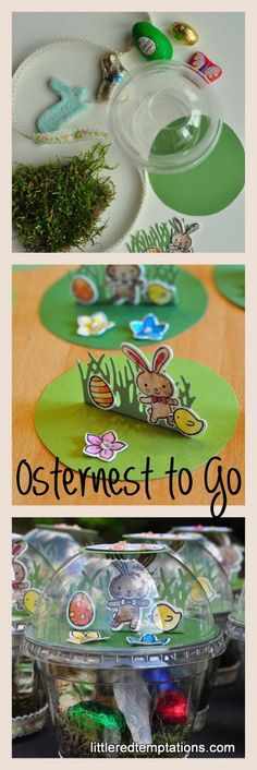 Osternest to go - Osternest einmal anders.