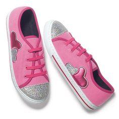 Pink Heart Sneaker