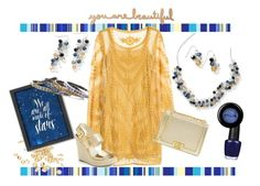"""""""Like a star in the night"""" by michelle-griffith-ray on Polyvore featuring H&M, Touchstone Crystal, MICHAEL Michael Kors, Americanflat, OPI, Stila, Sunshine, swarovski, touchstonecrystal and likeastarinthenight"""