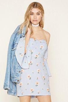 Floral Off-the-Shoulder Dress #letscelebrate