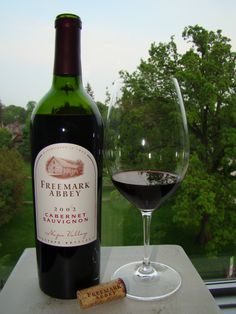 Freemark Abbey Cabernet Sauvignon 2002, Napa Valley, California  The nose was very subdued; old wood and pencil shaving. The palate is a bit rustic with low acidity and smooth tannins. The finish is earthy with no fruit to speak of. This wine was purchased on May 28, 2011 LCBO New Release at $29.95
