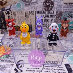 Caixinhas Five Nights at Freddy's - FNAF - Paty's Biscuit