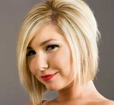 inverted bob for blonde hairstyles