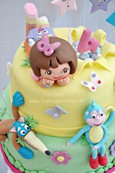 Cutest Dora cake, TORTA DORA