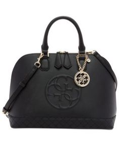 e9c9344ea530e GUESS Korry Dome Satchel - Handbags  amp  Accessories - Macy s Guess  Handbags, Handbags On