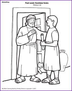 Paul And Barnabus Coloring Page