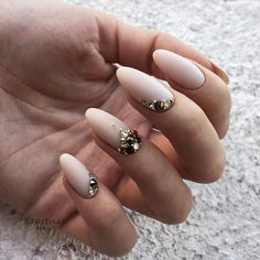 18 Beautiful Winter Nail Colors ★ Beautiful Winter Matte Nail Designs Picture 1 ★ See more: http://glaminati.com/winter-nail-colors/ #winternails #nailcolors