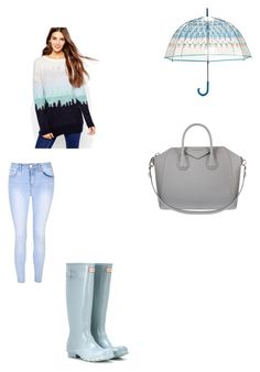 """""""Untitled #94"""" by jazzy-jazzz on Polyvore featuring ASOS, Glamorous, Hunter, Vera Bradley and Givenchy"""