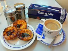 Traditional Lisbon pastries