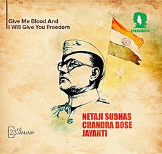 Subhas Chandra Bose, Important Dates, Evergreen, Freedom, Give It To Me, Movie Posters, Movies, Liberty, Political Freedom