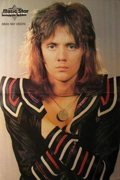 love Rog and why the fuck does it say Brian May when its Roger in the picture whatever love them both  Roger Taylor by Mick Rock in 1974